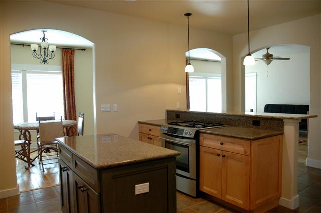 6 kitchen open to dining and living room | Colorado Mountain